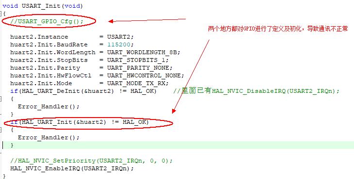 stm32单片机Hal库使用问题1---串口通讯